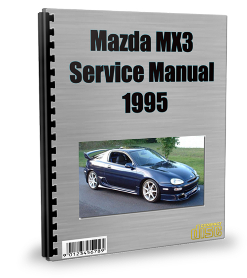 mazda mx3 1995 service repair manual download download