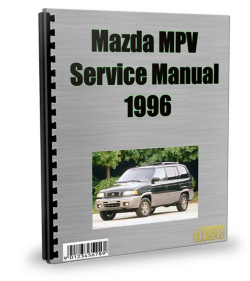 mazda mpv 1996 service repair manual download download manuals a rh tradebit com 2003 Mazda MPV 2001 Mazda MPV