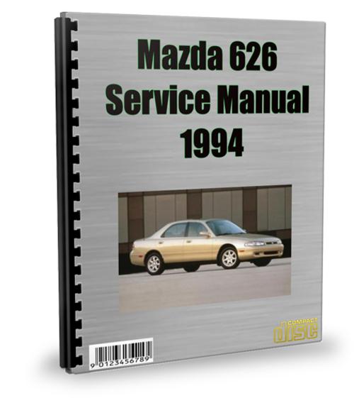 Pay for Mazda 626 1994 Service Repair Manual Download
