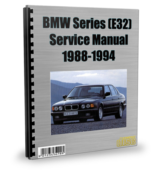 Pay for BMW 7 Series (E32) 1988-1994 Service Repair Manual Download