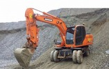 Thumbnail DOOSAN DX140W / DX160W WHEEL EXCAVATOR SERVICE SHOP REPAIR MANUAL