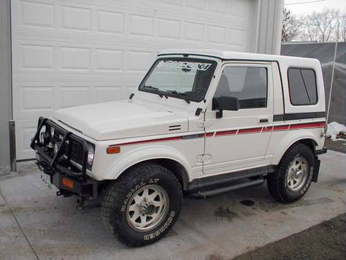1987 Suzuki Samurai Service Repair Manual Download