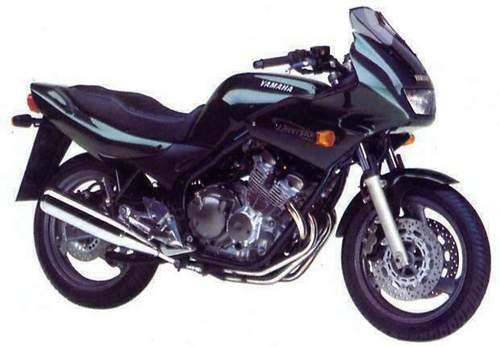 yamaha xj600s xj600n motorcycle service repair manual. Black Bedroom Furniture Sets. Home Design Ideas