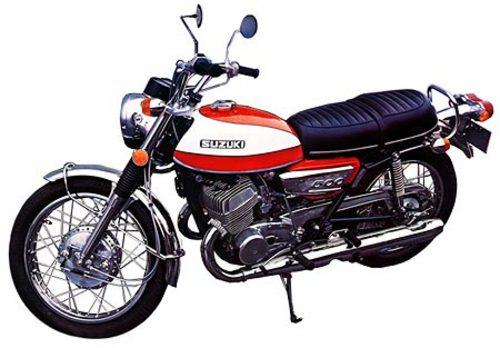 Suzuki T500 Motorcycle Service Repair Manual Download Download
