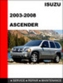 Thumbnail 2003-2008 Isuzu Ascender Factory Service Repair Manual