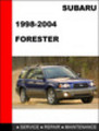Thumbnail 1998-2004 Subaru Forester Factory Service Repair Manual