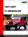 Thumbnail Jeep TJ Wrangler 1997-2007 Service Repair Manual
