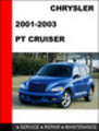 Thumbnail PT Cruiser 2001-2002-2003 Service Repair Manual