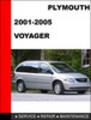 Thumbnail Plymouth Voyager 2001-2005 Service Repair Manual