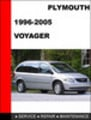 Thumbnail Plymouth Voyager 1996-2005 Service Repair Manual