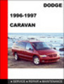 Thumbnail Dodge Caravan 1996-1997 Workshop Service Repair Manual