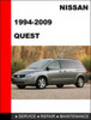 Thumbnail Nissan Quest 1994-2009 Workshop Service Repair Manual