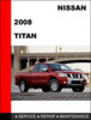 Thumbnail Nissan Titan 2008 Factory Workshop Service Repair Manual