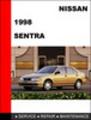 Thumbnail Nissan Sentra 1998 Factory Workshop Service Repair Manual