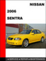 Thumbnail Nissan Sentra 2006 Factory Workshop Service Repair Manual