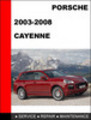 Thumbnail Porsche Cayenne 2003-2008 Workshop Service Repair Manual