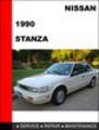 Thumbnail Nissan Stanza 1990 Factory Workshop Service Repair Manual