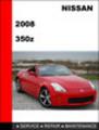 Thumbnail Nissan 350Z 2008 Factory Workshop Service Repair Manual