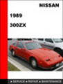 Thumbnail Nissan 300ZX 1989 Factory Workshop Service Repair Manual