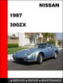 Thumbnail Nissan 300ZX 1987 Factory Workshop Service Repair Manual