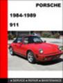 Thumbnail Porsche 911 1984-1989 Factory Service Repair Manual