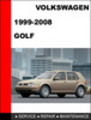 Thumbnail VW Golf 1999-2008 Workshop Factory Service Repair Manual