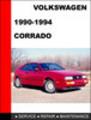 Thumbnail Volkswagen Corrado 1990-1994 Factory Service Repair Manual