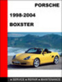 Thumbnail Porsche Boxster 986 1998-2004 Workshop Service Repair Manual