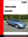 FIAT Coupe Workshop Service Repair Manual