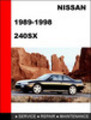 Thumbnail Nissan 240SX 1989-1998 Factory Service Repair Manual