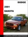 Thumbnail Dodge Dakota 2001 Workshop Factory Service repair manual