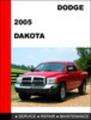 Thumbnail Dodge Dakota 2005 Workshop Factory Service repair manual