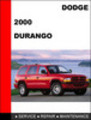 Thumbnail Dodge Durango 2000 Factory Service Repair Manual