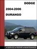 Thumbnail Dodge Durango 2004 - 2006 Factory Service Repair Manual