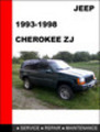 Thumbnail Jeep Cherokee ZJ 1993-1998 workshop Service Repair Manual