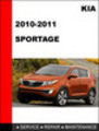 Thumbnail KIA Sportage 2010-2011 Factory Service Repair Manual