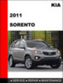 Thumbnail KIA Sorento 2011 OEM Factory Service Workshop Repair Manual