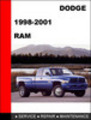 Thumbnail Dodge RAM 1998-2001 Workshop Service Repair Manual