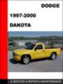 1997 dodge dakota owners manual free