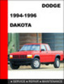 Thumbnail Dodge Dakota 1994-1996 Workshop Service Repair Manual