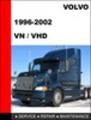 Thumbnail Volvo Trucks VN VHD 1996-2002 Factory Service repair manual