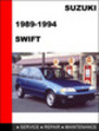 Thumbnail Suzuki Swift GTI 1989-1994 Service Repair Manual Download