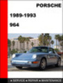 Thumbnail Porsche 911 964 1989-1993 Factory Service Repair Manual
