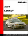 Thumbnail Subaru Legacy 2003 Workshop Factory Service Repair Manual