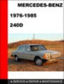 Thumbnail Mercedes-Benz 240D 1976-1985 Factory Service Repair Manual