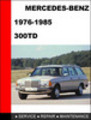Thumbnail Mercedes-Benz 300TD 1976-1985 Factory Service Repair Manual