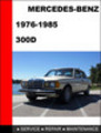Thumbnail Mercedes-Benz 300D 1976-1985 Factory Service Repair Manual