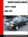 Thumbnail Mercedes-Benz 280CE 1977-1985 Factory Service Repair Manual