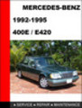 Thumbnail Mercedes-Benz 400E - E420 1992-1995 Service Repair Manual