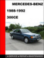 Thumbnail Mercedes-Benz 300CE 1988-1992 Workshop Service Repair Manual